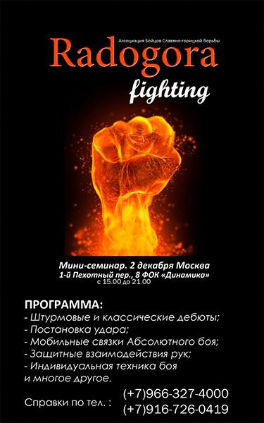 Мини-семинар по Славяно-Горицкой Борьбе
